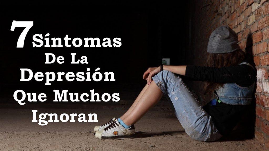 sintomas de depresion lista