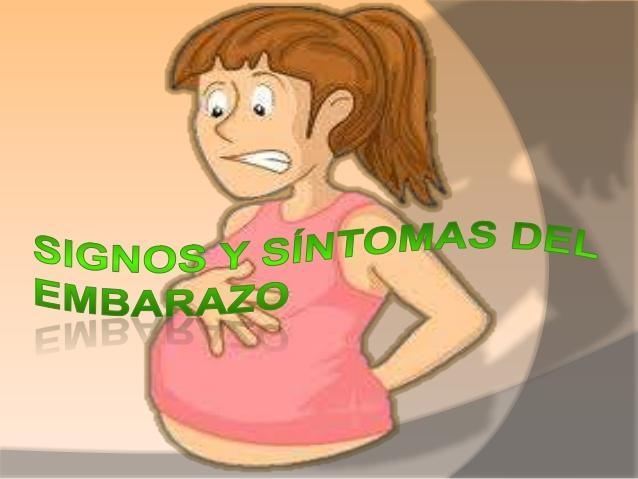 sintomas del embarazo fisicos