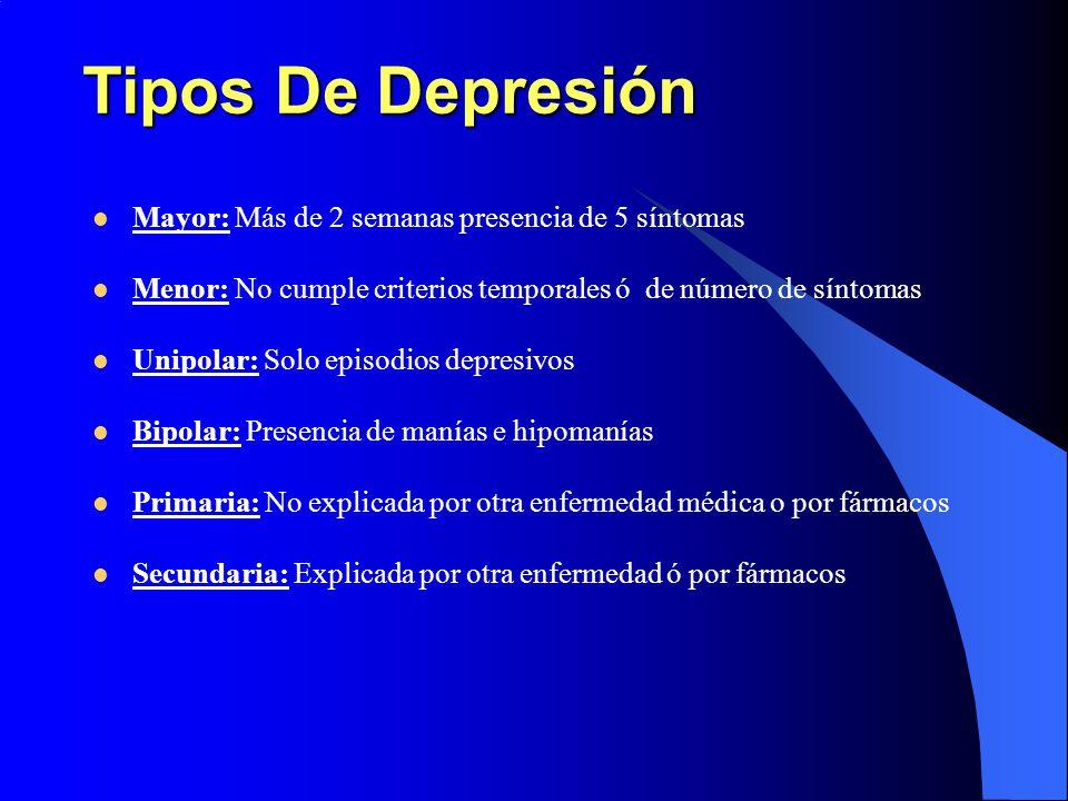 sintomas de depresion generalizada