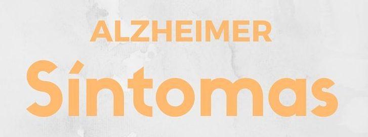 sintomas de alzheimer en espanol