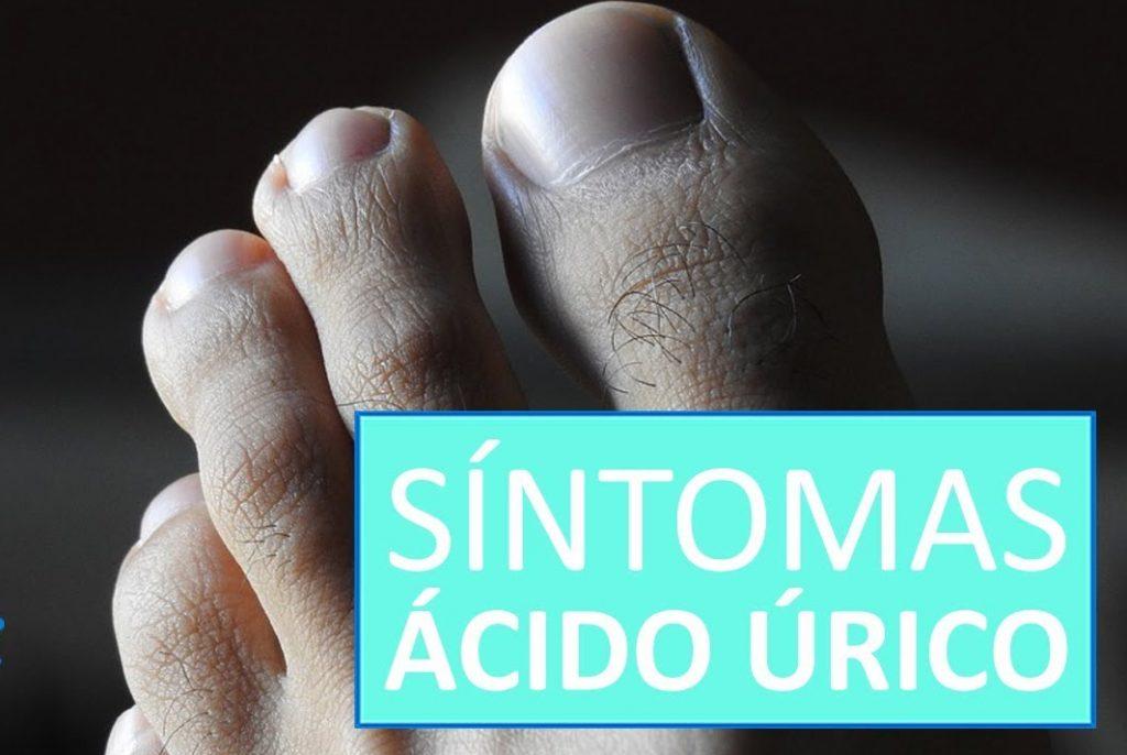 sintomas de acido urico elevado en el cuerpo
