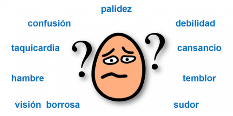 hipoglicemia sintomas adrenergicos