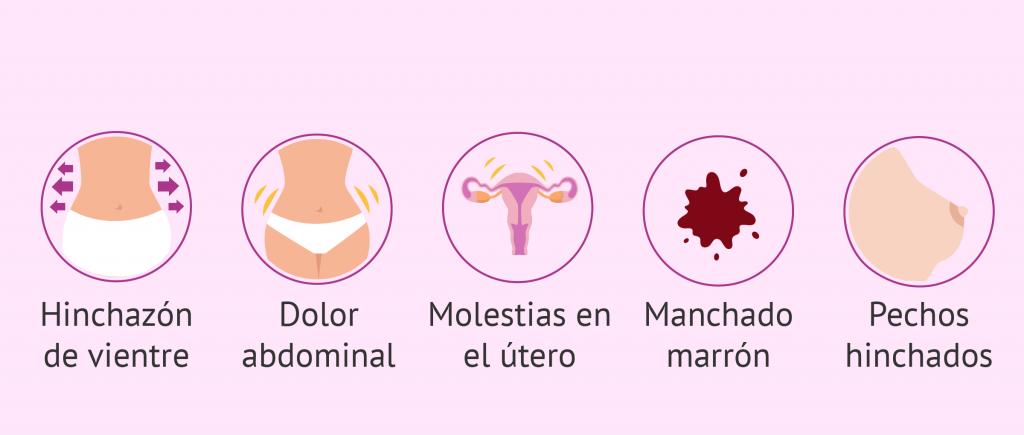 sintomas premenstruales cuando comienzan