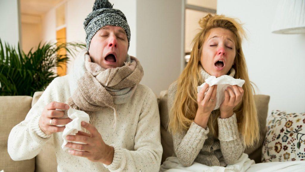 gripe síntomas 2018