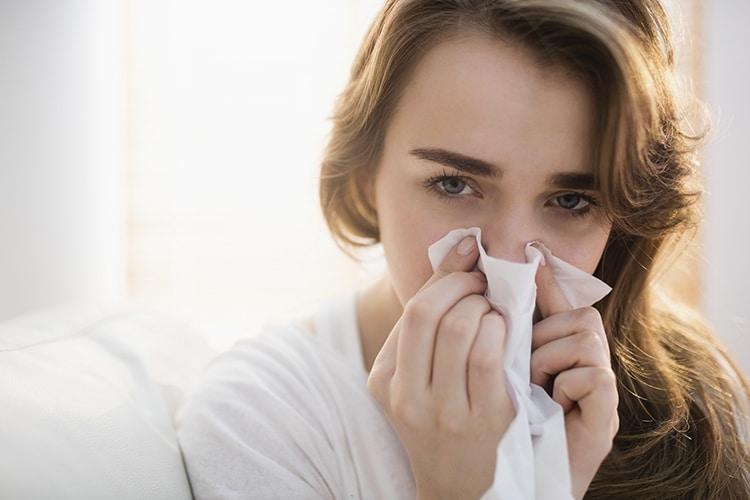 gripe a sintomas y tratamiento