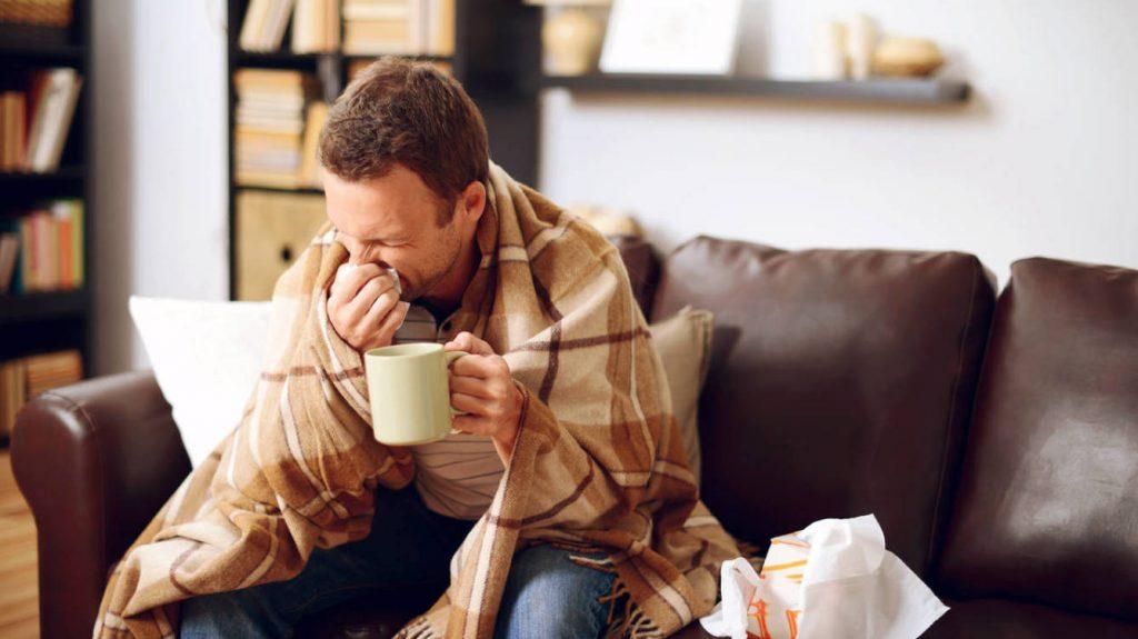 gripe sintomas e duração