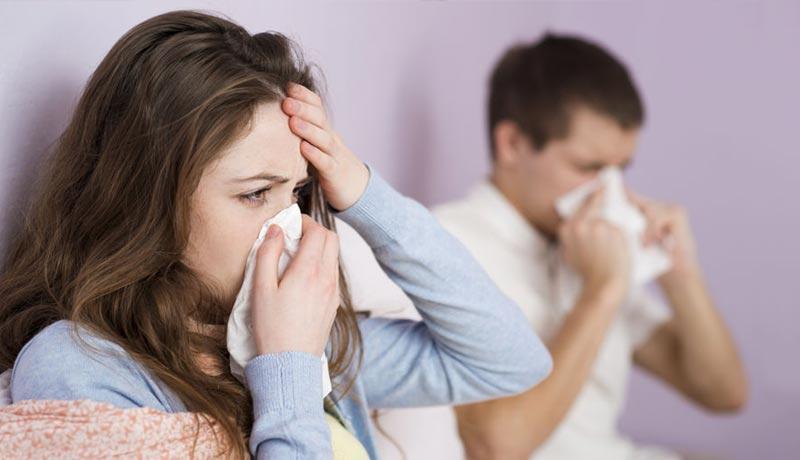 gripe alergica sintomas