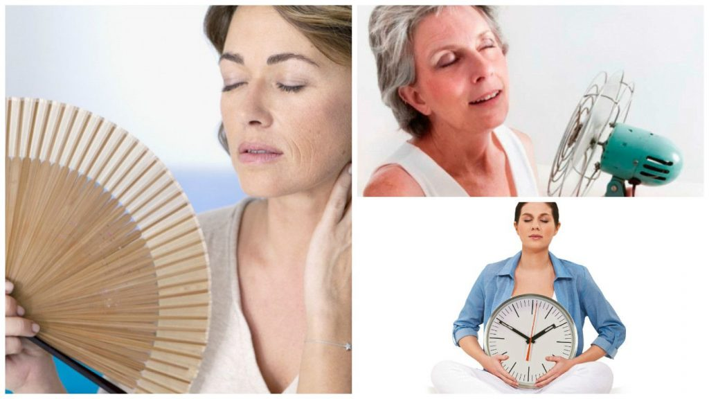 sintomas de menopausia a los 45