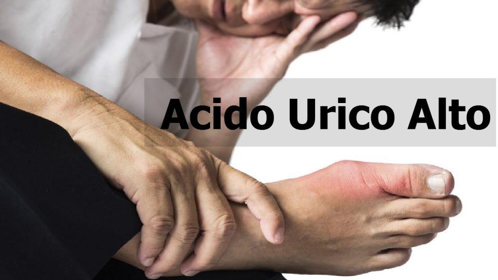 sintomas de acido urico en los brazos
