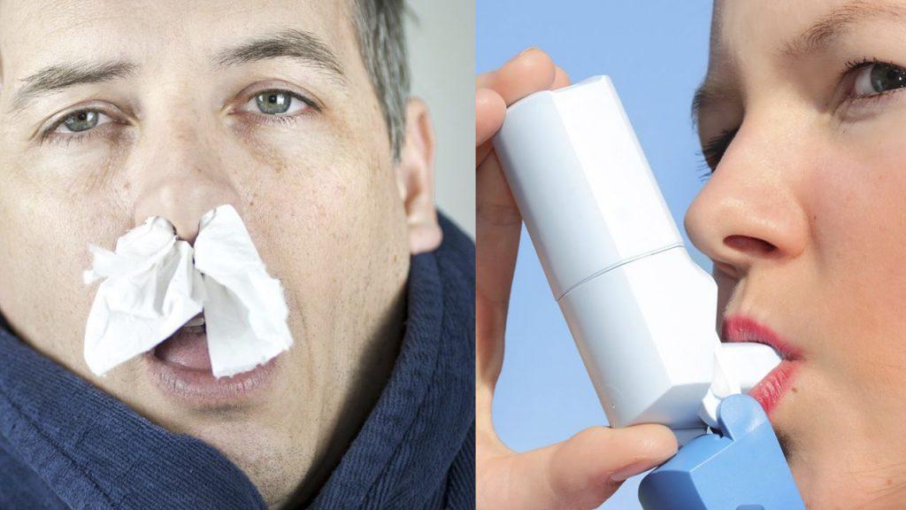 que son los sintomas de asma