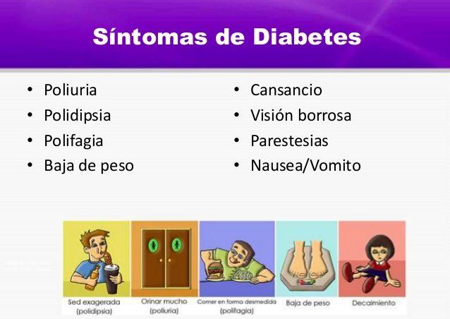 sintomas de diabetes juvenil en mujeres