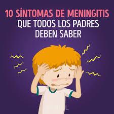 los síntomas de meningitis cuáles son