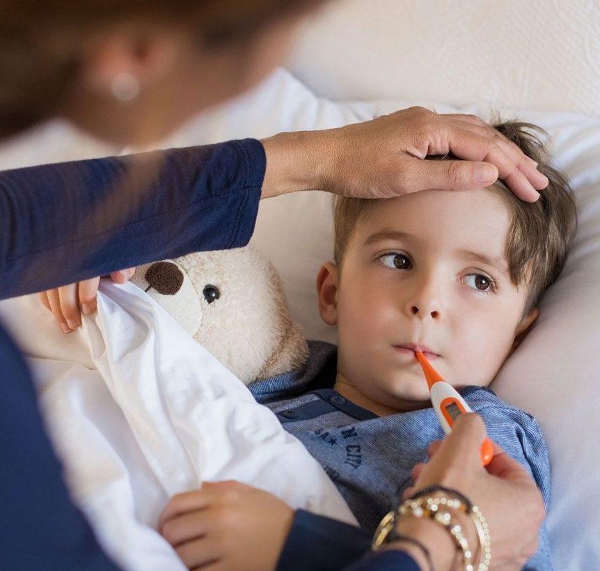 síntomas mononucleosis infantil