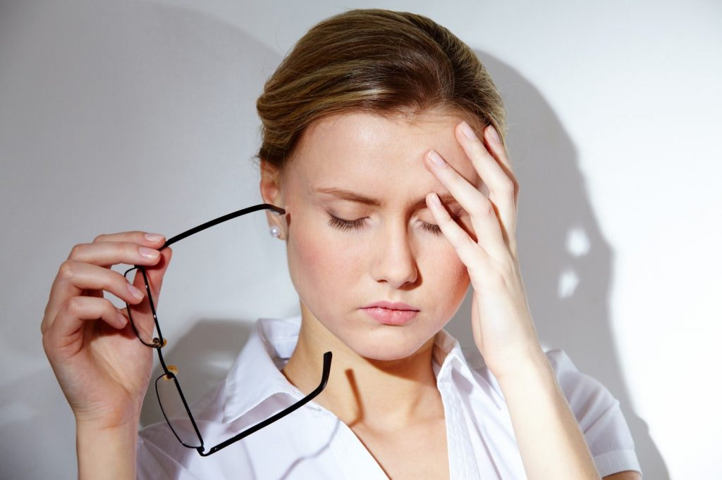 síntomas de tensión baja