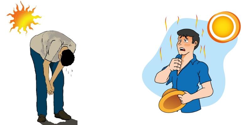 golpe de calor sintomas y causas