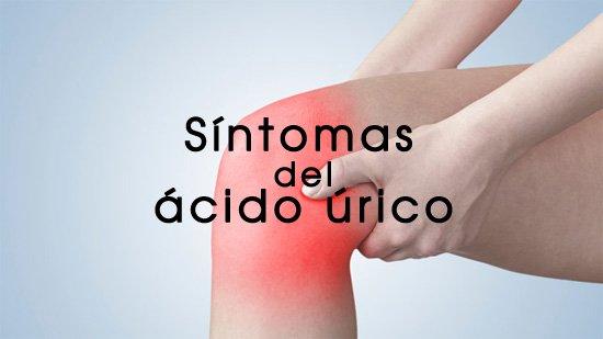 sintomas de ácido úrico elevado