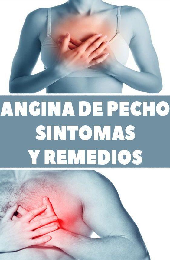una angina de pecho sintomas