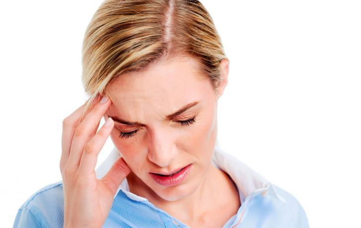 migraña aura sintomas